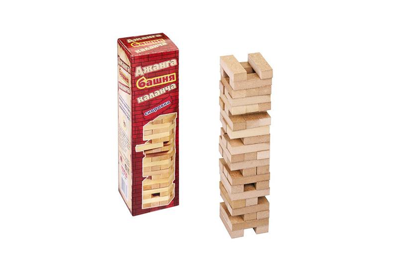Настольная игра HC-Toys Джанга Башня. Каланча малая