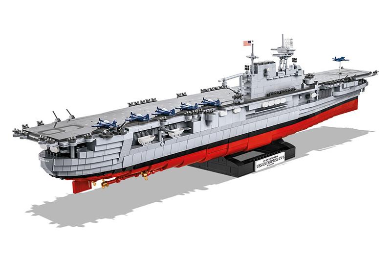 Конструктор COBI Авианосец USS Enterprise