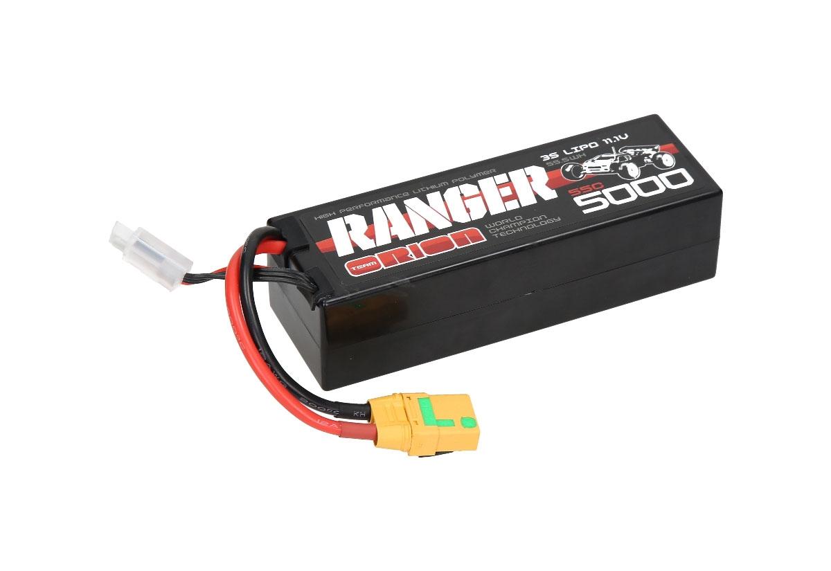 Аккумулятор Team Orion Batteries 3S 55C Ranger LiPo Battery (11.1V/5000mAh) XT90 Plug аккумулятор team orion batteries 11 1v 2200mah 50c lipo xt60 plug led status