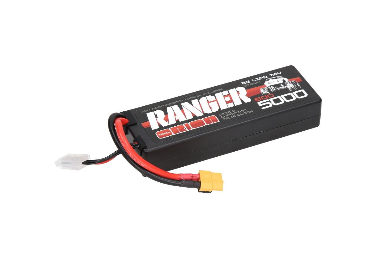 Аккумулятор Team Orion Batteries 2S 60C Ranger LiPo Battery (7.4V/5000mAh) XT60 Plug аккумулятор team orion batteries 11 1v 2200mah 50c lipo xt60 plug led status