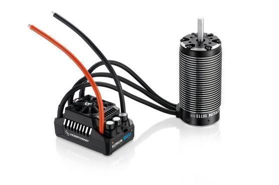 Фото - Бесколлекторая бессенсорная влагозащищенная система Hobbywing EZRUN MAX6 5687SL 1100Kv электродвигатель бесколлекторный hobbywing ezrun 3660 sl 4000 kv