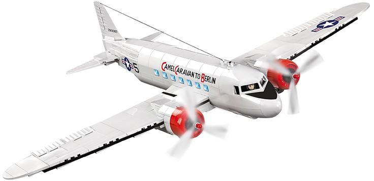 Конструктор COBI Самолет C-47 Skytrain Berlin Airlift конструктор cobi самолет boeing 787 dreamliner