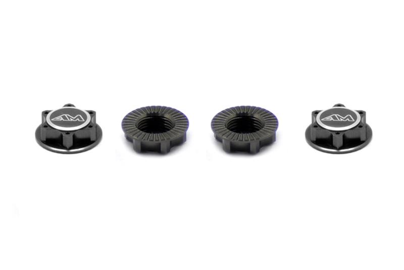 Колесные гайки ARROWMAX 1/8 закрытого типа / облегченные (серые) (4)