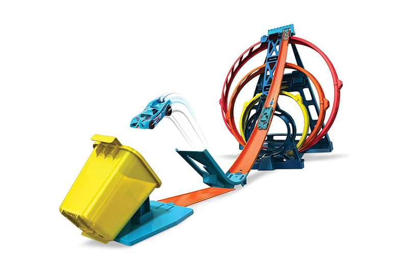 Игровой набор HC-Toys Hot Wheels Конструктор Трасс Тройная петля GLC96