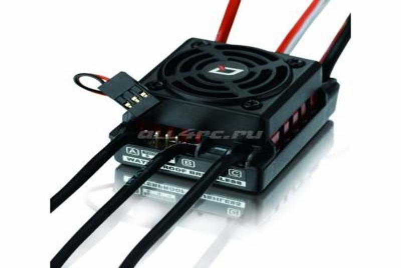 Регулятор оборотов бесколлекторный Hobbywing Quicrun WP-10BL60