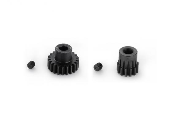 Шестерня ведущая Hobbywing 19T 5MM 32P STEEL PINION GEAR