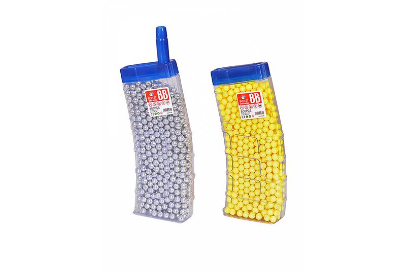 Расходники HC-Toys Пульки в банке в виде магазина 800 шт. JDE