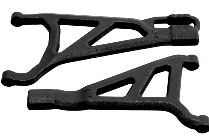 Рычаги подвески RPM Black Front Right A-arms for the Revo 2.0 рычаги подвески rpm for the kraton talion