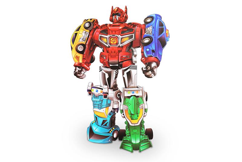 Радиоуправляемый робот HC-Toys Трансформер
