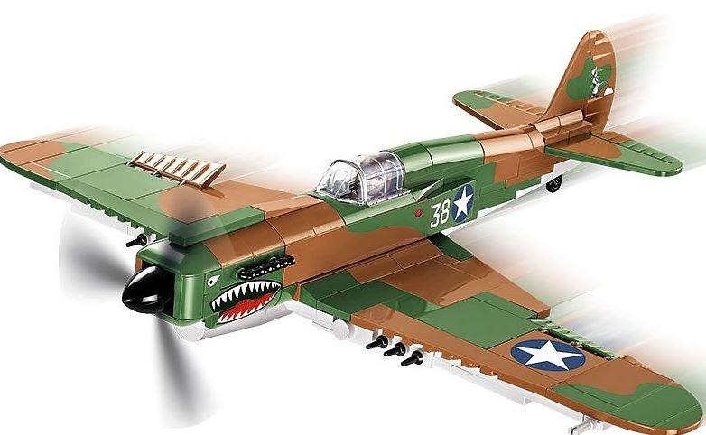 Американский истребитель CURTISS P-40E WARHAWK COBI