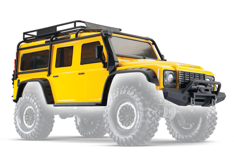 Аксессуары для радиоуправляемых моделей TRAXXAS Кузов TRX-4 Land Rover Defender (yellow) аксессуары для радиоуправляемых игрушек