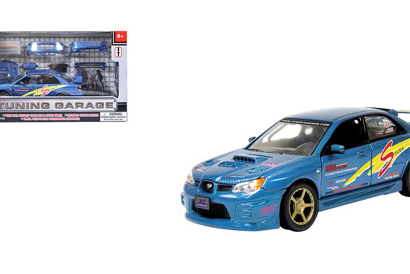 Модель машины HC-Toys Motormax Гаражный тюнинг Subaru Impreza WRX STI 1:24 75703