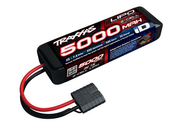 Аккумуляторы и батарейки TRAXXAS Battery 5000mAh 7.4v 2-Cell 25C LiPo