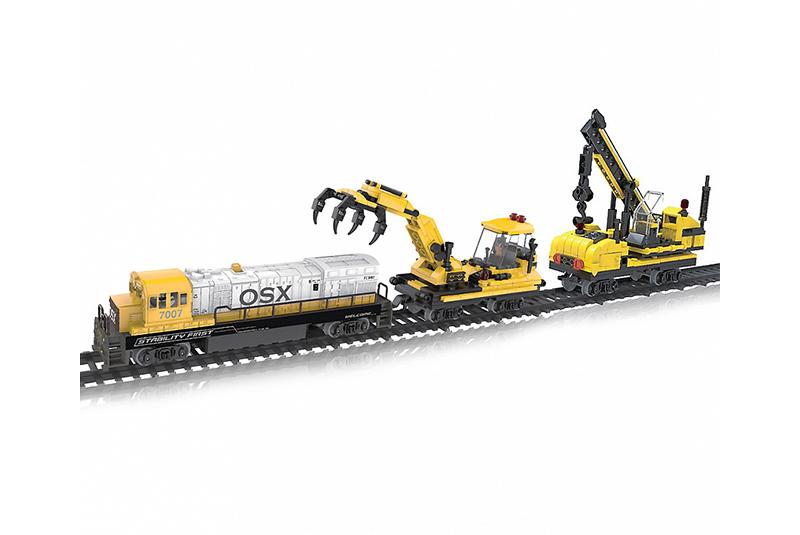 Игровой набор HC-Toys Железная дорога Собери строительную технику