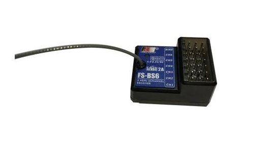 Аппаратура и электроника для радиоуправляемых моделей FlySky 6-ти канальный автоприемник FS-BS6 с гироскопом для FS-IT4S|GT5 - FS-BS6