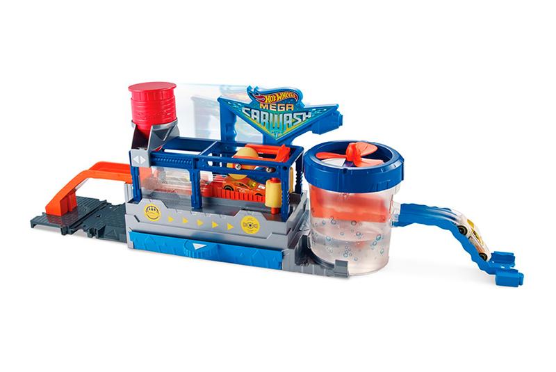 Игрушка HC-Toys Игровой набор Hot Wheels FTB66 Сити МегаАвтомойка