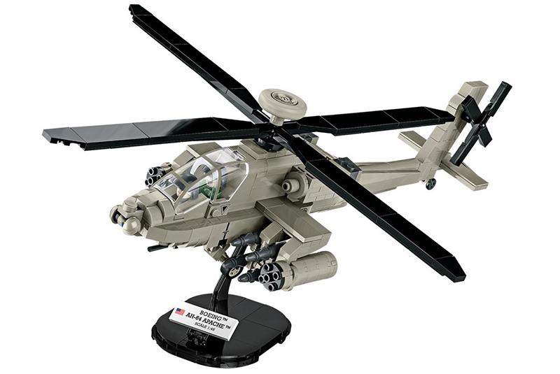 Фото - Конструктор COBI AH-64 APACHE 1:48 сборная модель revell ah 64 apache 06631 1 100