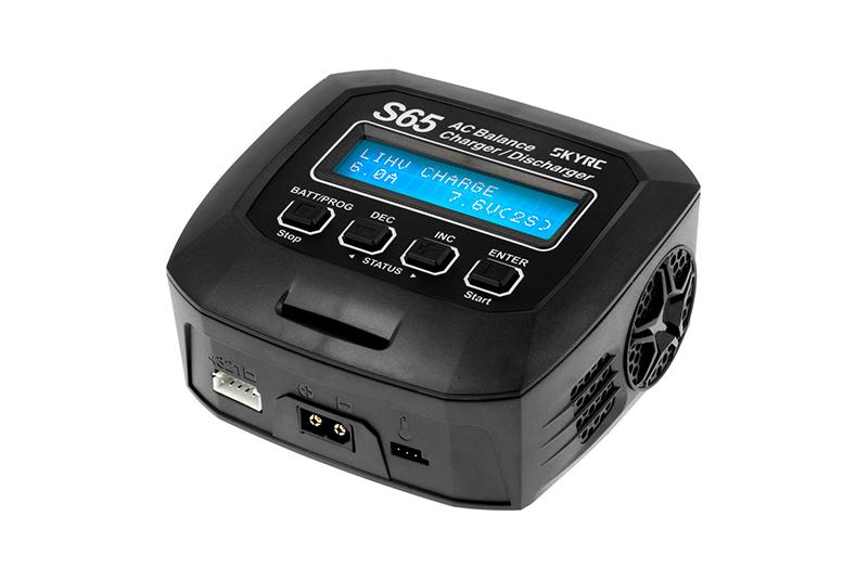 Зарядные устройства для радиоуправляемых моделей SkyRC SkyRC S65 2-4S 6A/65W