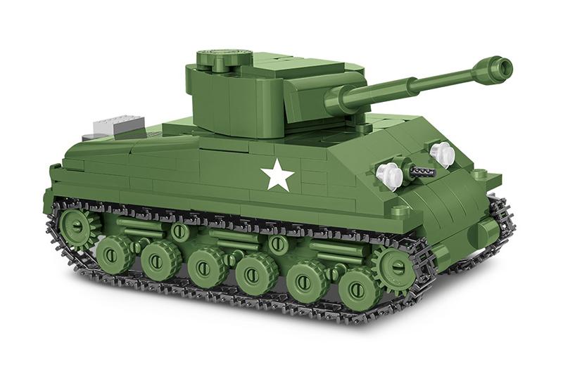 Конструктор танк COBI M4A3E8 SHERMAN