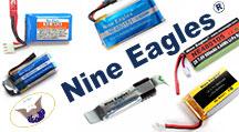 Li-Po аккумуляторы для ВСЕХ моделей от Nine Eagles снова в продаже!