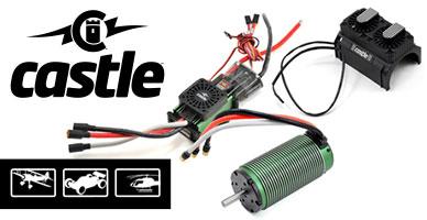 Поставка модельной электроники и аксессуаров Castle Creations!