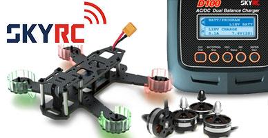 Поставка SkyRC: гоночные FPV дроны, зарядные устройства, БК системы и электроника!