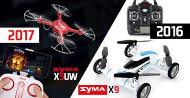 Ещё больше моделей SYMA: новинки уходящего и наступающего года в продаже!
