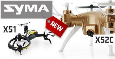 Поставка дронов SYMA: долгожданные новинки сезона уже в продаже! Идеи для выбора – здесь!