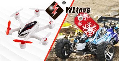 Цены на модели WLToys снижены! Специальное новогоднее предложение!