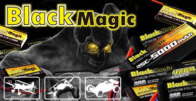 Поставка Black Magic: аккумуляторы для дронов, авиамоделей и автомоделей TRAXXAS