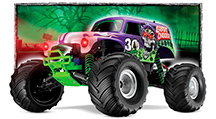 Monster Jam Excitement 1/16 Scale