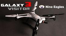 Принципиально новый квадрокоптер Nine Eagles Galaxy Visitor 3 в продаже! Также в наличии большой ассортимент запчастей