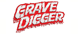 TRA7202A Grave Digger 1/16 2WD TQ логотип