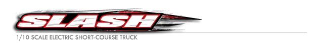 TRA58044-1 Slash Dakar Series Robby Gordon Gordini 1/10 2WD TQ Fast Charger логотип