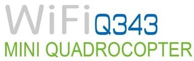 WLT-Q343 Q343 Mini WiFi Quadcopter логотип