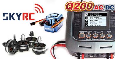 SkyRC: поставка зарядных устройств, электроники и бесколлекторных систем!