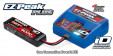 TRAXXAS Charger : EZ-Peak Plus 4-amp NiMH:LiPo Fast Charger with iD™ Auto Battery Identification