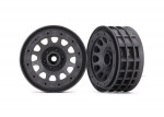 "Wheels, Method 105 2.2"" (charcoal gray, beadlock) (beadlock rings sold separately)"