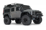 TRX-4 1:10 Land Rover 4WD Scale and Trail Crawler Silver