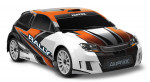LaTrax Rally 1:18 4WD Fast Charger Orange