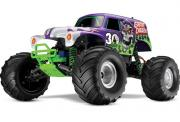 TRAXXAS 1/10 EP 2WD Monster Jam Grave Digger RTR
