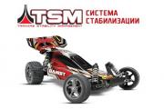 TRAXXAS Радиоуправляемая машина Bandit VXL 1:10 2WD TQi Ready to Bluetooth Fast Charger TSM