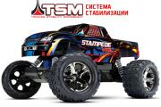 TRAXXAS Радиоуправляемая машина Stampede VXL 1:10 2WD TQi Ready to Bluetooth Module TSM