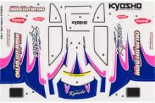 KYOSHO запчасти Decal Set(Mini Inferno)