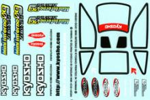 KYOSHO запчасти Decal Set