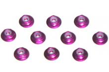 Anderson ALUMINUM NYLON NUT WITH FLAGE 2mm PURPLE