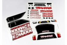 TRAXXAS запчасти Decal sheets, E-Maxx Brushless (model 3908)