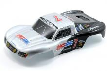 TRAXXAS запчасти Body, Amsoil replica, 1/16 Slash (painted, decals applied)