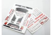 TRAXXAS запчасти Decal sheets, Stampede VXL