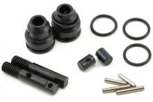 TRAXXAS запчасти Rebuild kit, steel constant-velocity driveshafts (includes pins, o-rings, stub axles for driveshafts